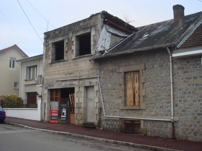 R novation de maison en haute vienne 87 r novation for Renovation maison avant apres travaux